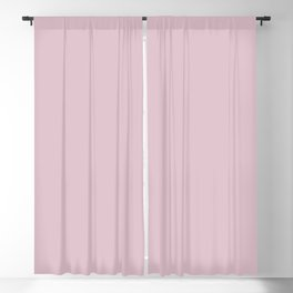 Delicate Blush ~ Cherry Blossom Pink Blackout Curtain