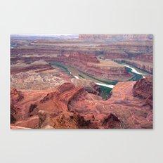 Dead Horse Point Natural Landscape - Utah Canvas Print