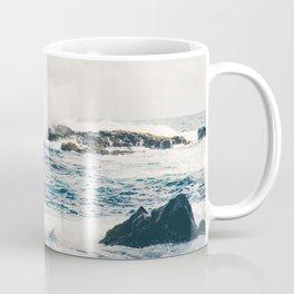 Rough Waters on the Coast of Maui Coffee Mug