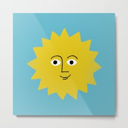 sunshine smiles Metal Print