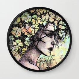 MELENA DE FLORES Wall Clock