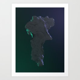 Kryton Art Print
