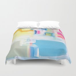 SHE COMES iN COLORS Duvet Cover