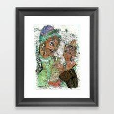 Wasted  Framed Art Print