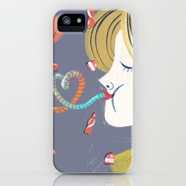 Candy addicted iPhone Case