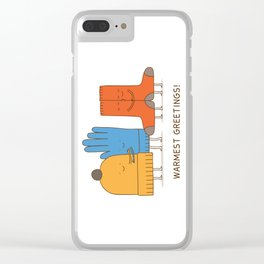 warmest greetings! Clear iPhone Case
