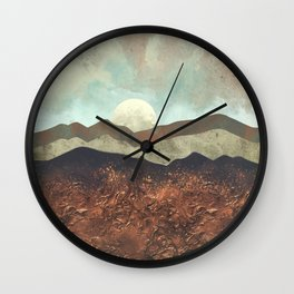 Copper Ground Wall Clock