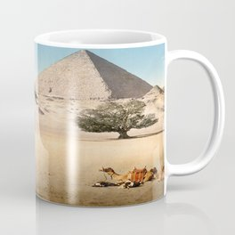 Vintage Pyramid : Grand Pyramid Gizeh Egypt 1895 Coffee Mug