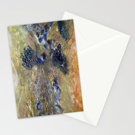 Embedded Emotions - Mixed Media Beeswax Encaustic Abstract Modern Fine Art, 2015 Stationery Cards