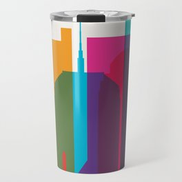 Shapes of Boston. Accurate to scale Travel Mug