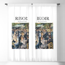 Renoir - Bal au moulin de la Galette Blackout Curtain