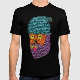 Snake Turban Steve the Zombie T-shirt