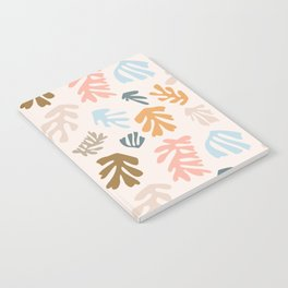 Seaweeds and sand Notebook