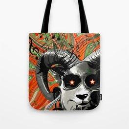 DJ Horn Gazer Tote Bag