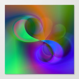 color whirl -32- Canvas Print