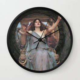 Circe Offering the Cup to Ulysses, John William Waterhouse Wall Clock