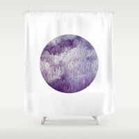 minerals Shower Curtains featuring Minerals by Paul Feather