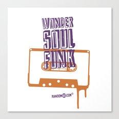Wonder Soul Funk Canvas Print