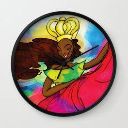 Reina Congo - Congo Queen Wall Clock