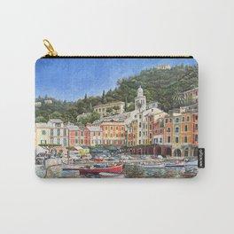 Portofino Italy Carry-All Pouch