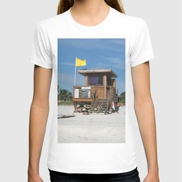 Lido Beach Lifeguard Station T-shirt