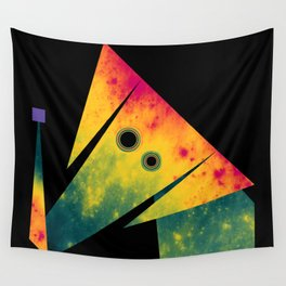Elephant Exploring Space Wall Tapestry