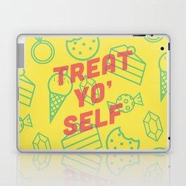 Treat Yo' Self Laptop & iPad Skin