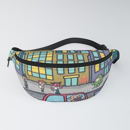 The Chicago Bird (pissed off dude in traffic) Fanny Pack