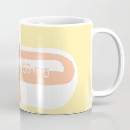 Thrill Pill Yellow Coffee Mug
