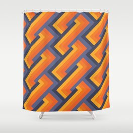 All Fired Up Shower Curtain