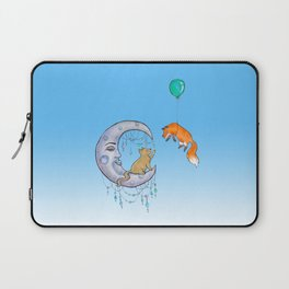 The fox and the cat Laptop Sleeve
