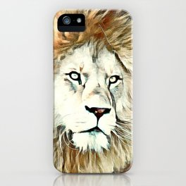 Warm colored Lion King iPhone Case