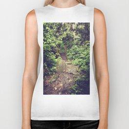 Rainforest Path Biker Tank