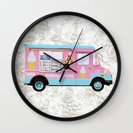 Time For Ice Cream Wall Clock