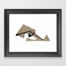 Trace Framed Art Print