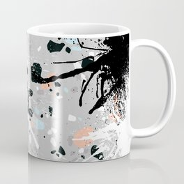 Abstract Splatter Artwork Coffee Mug