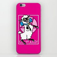 onward iPhone & iPod Skins featuring Onward! by Sellergren Design - Art is the Enemy