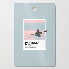Pantone Series – Paddle Cutting Board