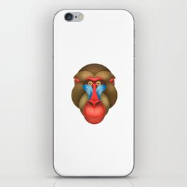 Compasses mandrill iPhone Skin