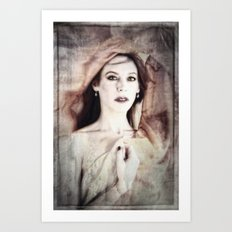 The Quiet That I've Chased Art Print