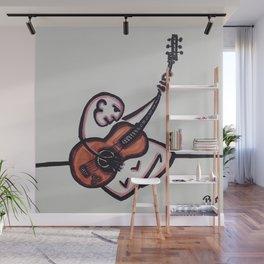 """The Guitarist #2"" Wall Mural"
