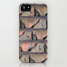 Grate Curves iPhone Case