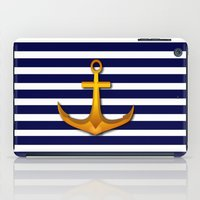 marine iPad Cases featuring Marine by Elena Indolfi