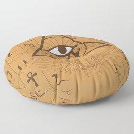 Eye of Horus Floor Pillow
