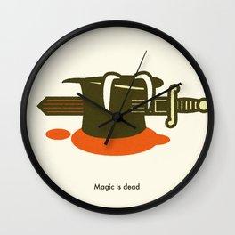 Magic is Dead Wall Clock