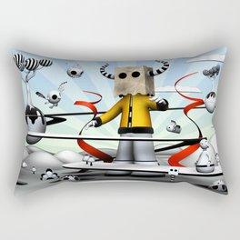 The Paparbag Monster Rectangular Pillow