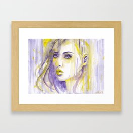 Inhibition Framed Art Print