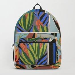 Vintage Art Deco design Backpack