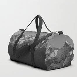 snowy mountains Duffle Bag