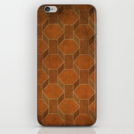 Hexagon Levels iPhone Skin